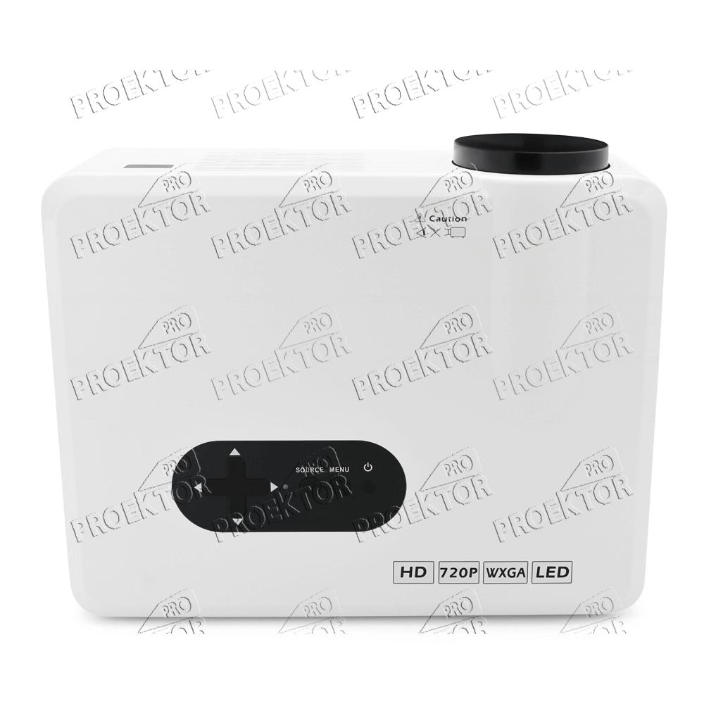 Мини проектор Excelvan CL720 (белый) - 4
