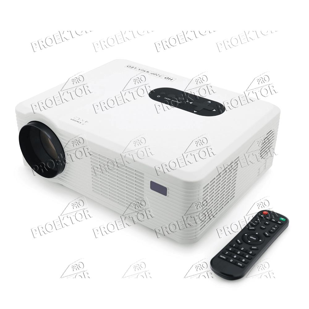 Мини проектор Excelvan CL720 (белый) - 2