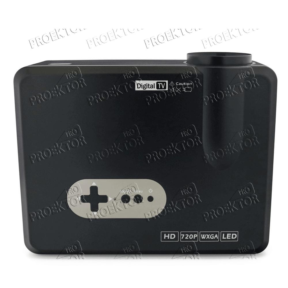 Мини проектор Excelvan CL720D (чёрный) - 4