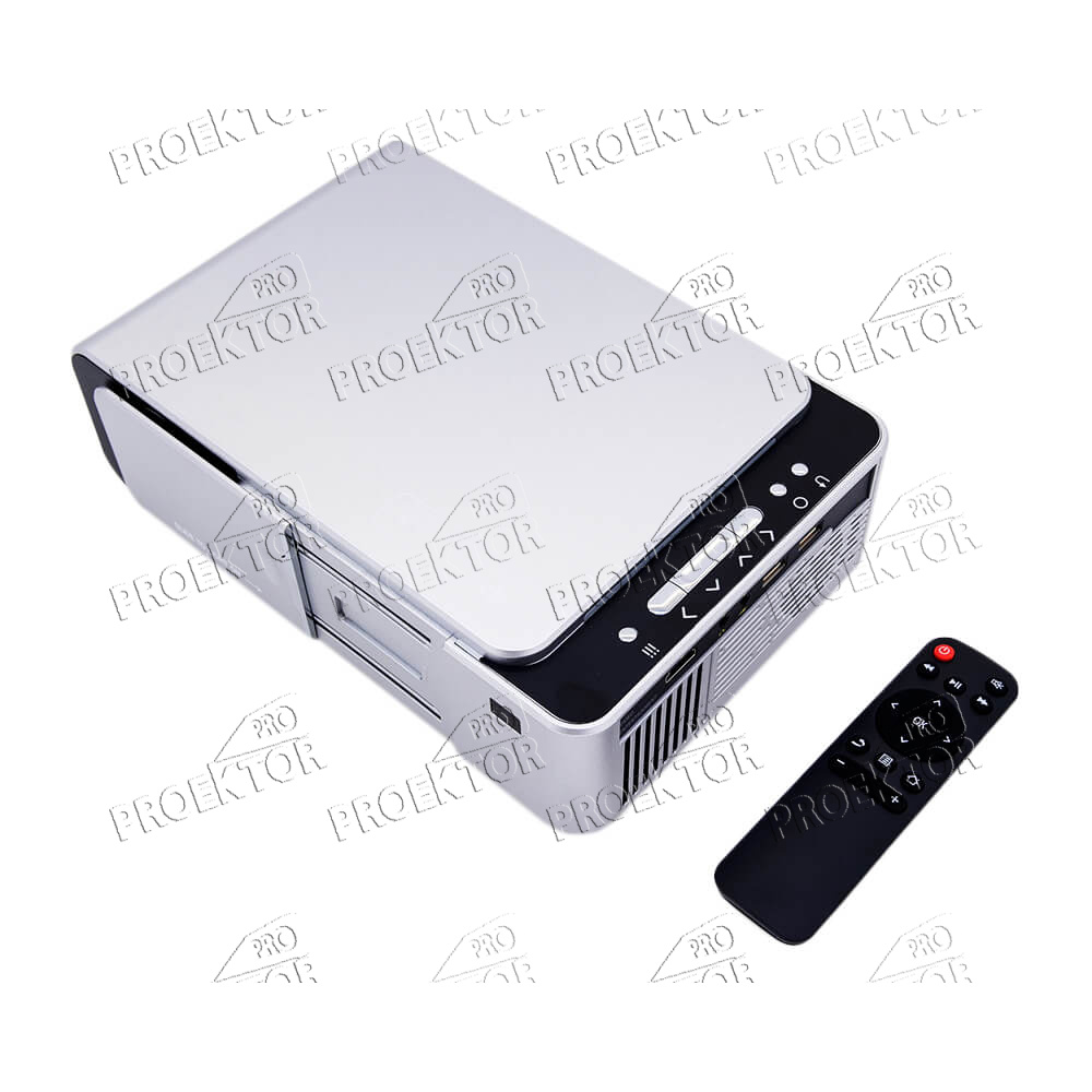 Проектор Everycom T6A Wi-Fi (серебристый) - 2